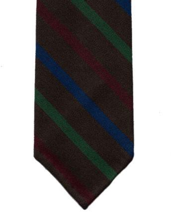 Outlet-Tie-wool-brown-2