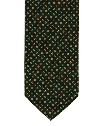 outlet-tie-7fold-green-1