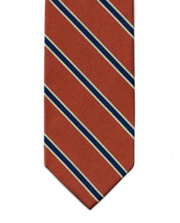 regimental-tie-orange-001
