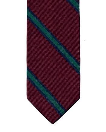 regimental-tie-red-green-001
