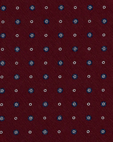 Handmade Italian Tie one off design ties