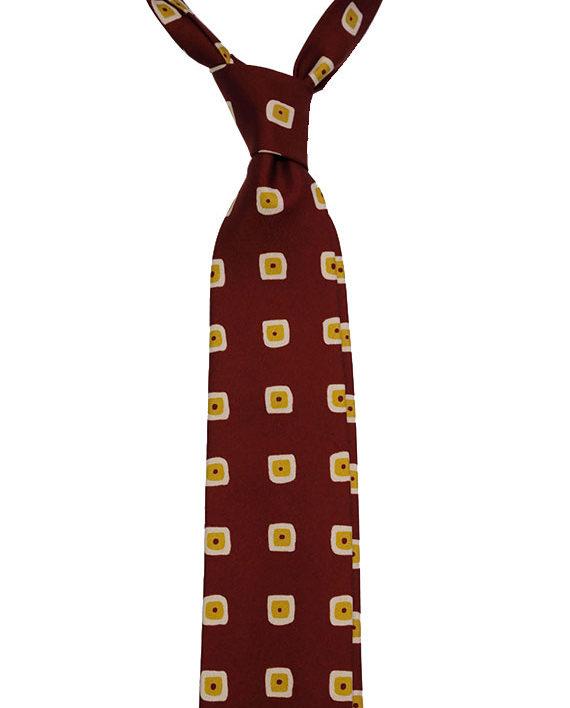 Twill silk ties